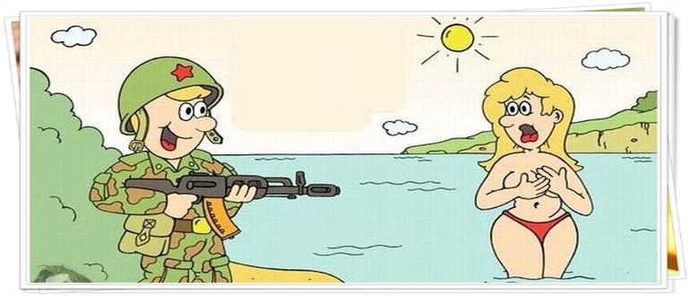 Анекдоты про военных смешные очень