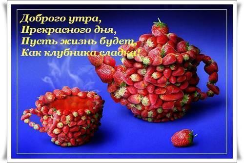 Красивые пожелания доброго утра и хорошего дня