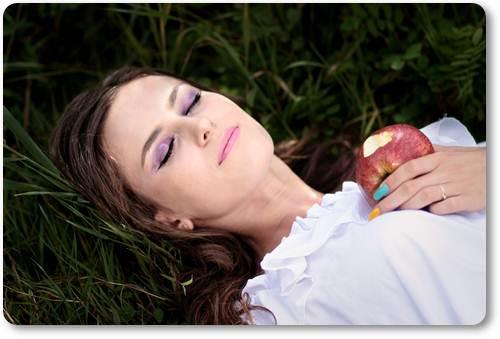 Романтичное пожелание спокойной ночи девушке